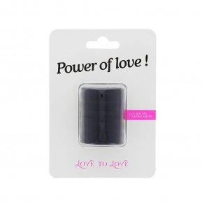 Насадка на член Love To Love Power of Love, утолщающая, стимулирующий рельеф
