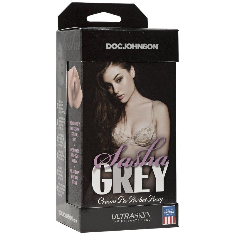 Мастурбатор вагина Doc Johnson Sasha Grey - Ultraskyn Cream Pie Pocket