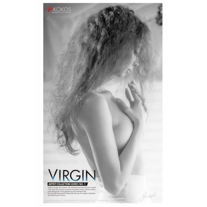 Мастурбатор узенькая вагина девственницы Kokos Virgin