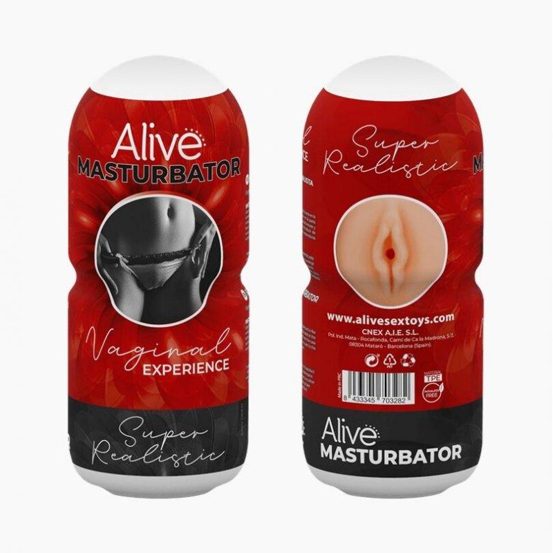 Мастурбатор-вагина Alive Vaginal Experience