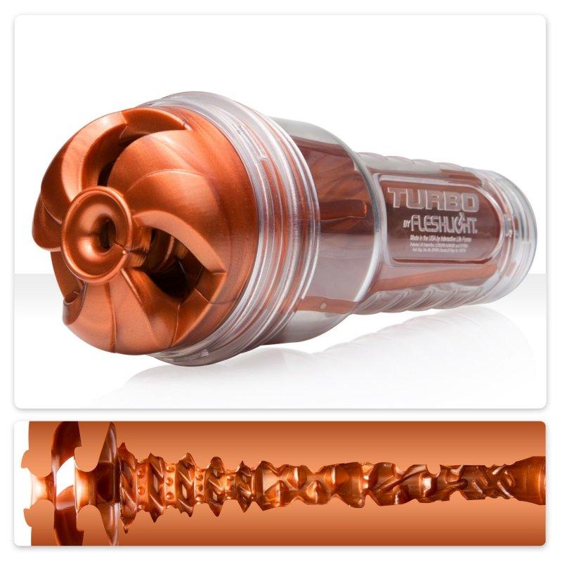 Мастурбатор Fleshlight Turbo Thrust Copper (имитатор минета)