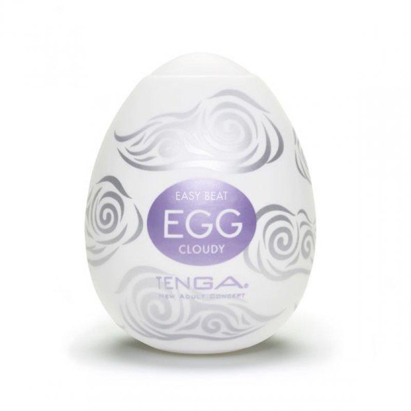 Мастурбатор яйцо Tenga Egg Cloudy (Облачный)