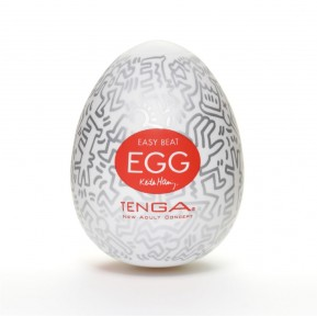Мастурбатор яйцо Tenga Keith Haring EGG Party