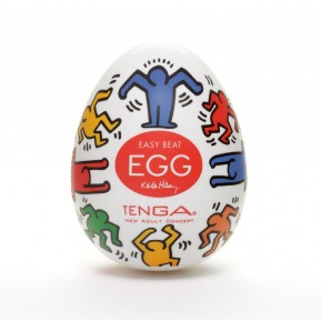 Мастурбатор яйцо Tenga Keith Haring EGG Dance
